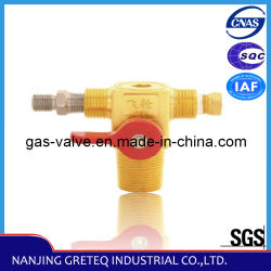 Safety Device를 가진 Vehicle를 위한 QF-T1 Brass CNG Cylinder Valve