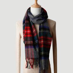 Scialle della sciarpa del cachemire di inverno degli uomini e delle donne della sciarpa delle lane del plaid della Scozia