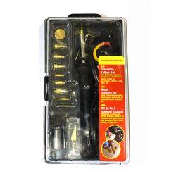 110V 30W Pyrography queima de madeira Ferramenta Kit de temperatura ajustável Woodburning Quente Tools