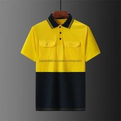 Workwear della camicia di polo del cotone di Hivis