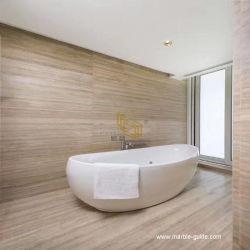 ترافرتين طبيعيّ بيئيّة/[كرم] رخاميّة حجارة قرميد لأنّ غرفة حمّام أرضية/جدار