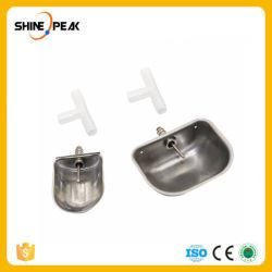 1 tazza bevente automatica dell'acciaio inossidabile del coniglio dello strumento di pollicultura di PCS che alza l'acqua potabile del visone di Fox del coniglio lancia