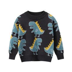 Мода детей свитер Детский Одежда повседневная Pullover детского рисунка трикотажных изделий