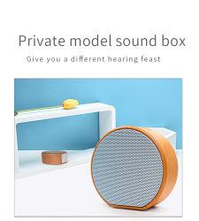 المصنع السعر الكلاسيكية الكمبيوتر الخشبي اللاسلكي المحمول ميني ريترو سماعة Bluetooth® خشبية
