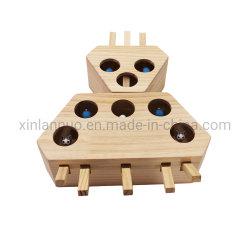 Gato caza Ejercicio interactivo juguete Juguetes Puzzle de madera de verificación