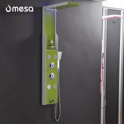 لوح دش من الفولاذ المقاوم للصدأ ورخيص باللون الأخضر على الحائط