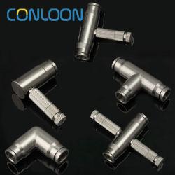 La nebulización de alta presión del sistema de bomba de pulverización de la SS316 Enchufe rápido de la boquilla para equipos de refrigeración