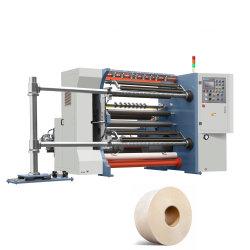 Rtfq-1300d High Speed Friction Air Shaft PVC Film folie Kraft Papier Schlitter Rewinder Roll to Roll Slitting Rewinding machine