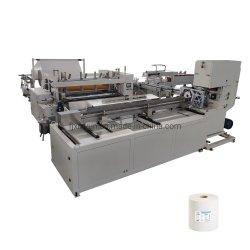 Maxi rollo papel higiénico de la línea de producción de la máquina de fabricación de papel