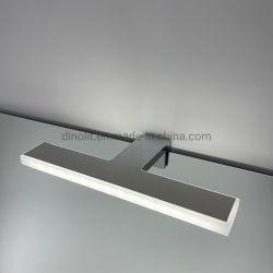 유럽 시장 크롬 표면 패션 모던 LED 조명이 들어오는 스테인리스 스틸 욕실 220V / 110V 7W 욕실 가구 / 배니티 / 캐비닛 IP44용 프론트 미러 램프