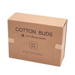200종 최고의 대나무 코튼 버즈 100% 생분해성 코튼 버즈 플라스틱 제품 및 포장