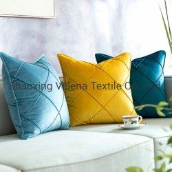 2020 осенью зимой креста трикотажные бархатные открытый Custom подушки дивана подушки сиденья ткань