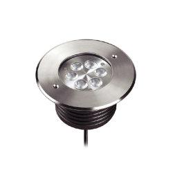 IP RGB67 à prova de estrutura 304L Inground iluminação LED