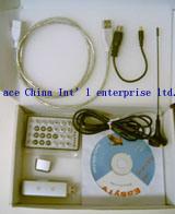 DVB-T USB накопитель в разъем внешней антенны и кабель USB