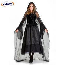 Geheimnisvolle Hexe-entsetzliche Vampir-Rollen-Spiel-Halloween-Kostüm-Frauen