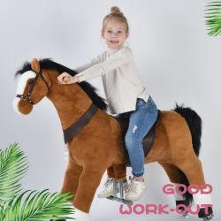 동물 승마 목조 타기 기계 승마용 장난감 포니 아이들을 위한