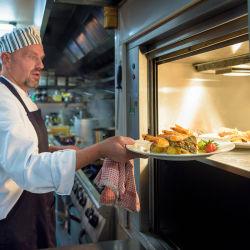 مصعد خدمة الطعام في فندق Dumbwaiter للمطعم مطعم مطعم مطبخ النادل الإقامة