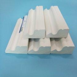 Espuma de PVC frisos laterais da tampa da base para a construção do prédio e decoração
