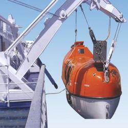 Plateforme Offshore Davit pour embarcation de sauvetage de chute libre