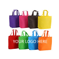 Рекламные оптовой экологически безопасные складные многоразовые пользовательских печатных рекламных магазинов стороны сумки дешевые Non-Woven мешок