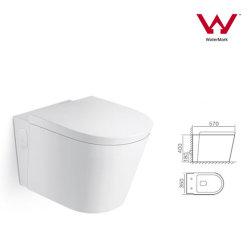 Водяной знак в ванной комнате керамическая цвет на стене висит туалет санитарных Уэр (2057C)