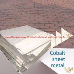 Werksgesundheitswesen-Kobalt-Blech mit hohem Reinheitsgrad für Maschinerie-Herstellung