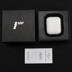 I100 Tws fones auriculares estéreo sem fio real auricular sem fios