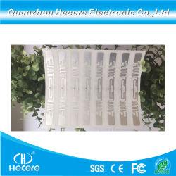 إمداد المصنع RFID UHF 860-960MHz H3 9640 العلامات الجافة/الرطبة ملصق الورق