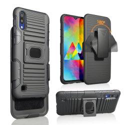 Harter PC weicher TPU Shockproof Telefon-Gummikasten für Deckel 3 Samsung-A10 in 1 Volldeckung-Handy-Fall