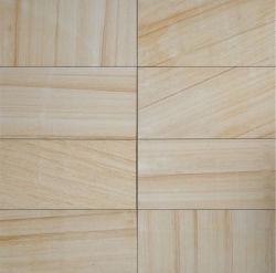 Adouci naturelles Jaune/Blanc/Noir/Rouge/vert/bleu/beige / gris/brun/multicolore de grès en bois pour la construction/Paving/Flooring/comptoir mural/de/de l'escalier/tile