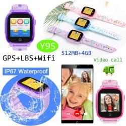 4G IP67 водонепроницаемый детям смотреть отслеживания GPS телефона с Video Call (Y9s