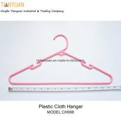 Lanudry en plastique de vêtements pour adultes de crochet de suspension