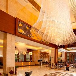 カスタム大きいプロジェクトの照明ホテルのロビーの贅沢で大きい水晶シャンデリア