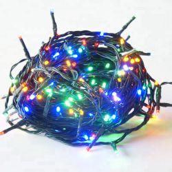 50 LED souple de 5 m de la corde de couleur des arbres de Noël Décoration de mariage de chaîne de lumière LED solaire