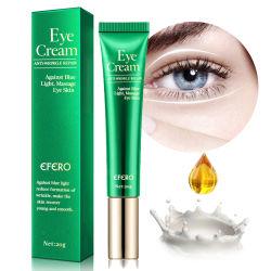 目のクリーム色のペプチッドコラーゲンの血清の反しわの反年齢の除去剤のPuffinessおよび袋の目に対する暗い円の目の心配はクリーム状になる