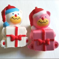 O Natal ostentar a subida lenta novidade brinquedos PU Squishy Brinquedos