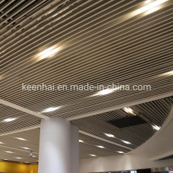 Bande décoratifs en aluminium Panneau de plafond suspendu au plafond en métal (KH-ED005)