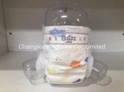 Уходу за ребенком продукт эластичным поясом тип одноразовых Baby Diaper с биологически разлагаемое красочные Magic ленту