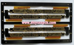 Rigid-Flexible 10 couches Enig PCB pour module LCD