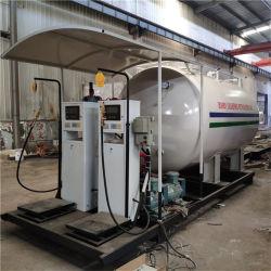 10000 litros Home Use gás de botijão Estação do depósito de GPL