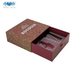 Cuidado de la piel cosméticos cajas de embalaje de papel, caja de regalo para los cosméticos para la venta