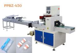Haute vitesse automatique de l'eau potable de café jetables en plastique/débit de la coupe du papier d'emballage avec comptage de la machine
