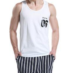 Van de Katoenen van Pinted van Customzied het Hemd/van de Slijtage van Sporten Spandex Mensen van de Fitness