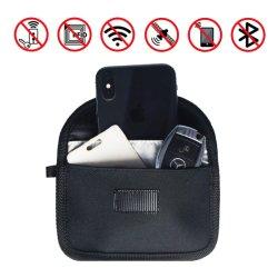 Технология RFID сигнал блокировки подушки безопасности экранирование чехол для автомобильного брелока и мобильному телефону защиты конфиденциальности
