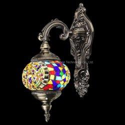 Wand des einfachen Entwurfs-LED/Dekoration-Lampe, handgemachte türkische Mosaik-Laterne (Blau, Gelb)