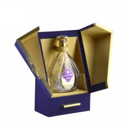 Comercio al por mayor Logotipo personalizado único de lujo en el cajón de regalo de vino de Caja de cuero
