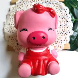Spielzeug-Kind-Geschenke Schwester-Schwein PU-Squishy langsame steigende Squishies