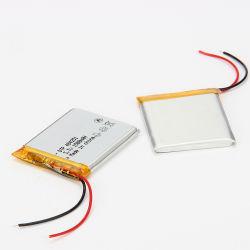 A DTP484251 3.7V 1500mAh tamanho personalizado Li-ion baterias de polímero utilizado
