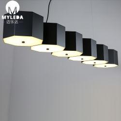 L'Art moderne Design Accueil pendentif décoratif à LED pour éclairage de plafond Salle à manger