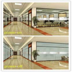 Flüssiger Kristall-schaltbares Gebäude-dekoratives Fenster lamelliertes ausgeglichenes intelligentes intelligentes Privatleben-Glas mit intelligentem Film/schaltbarem Film